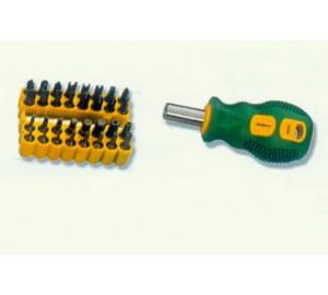 W0210 34件套D型组合螺丝批008 燕平机电