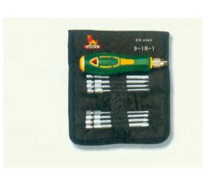 W0411 9件套多用螺丝批016 燕平机电