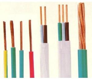 铜(铝芯)聚氯乙烯绝缘无护套电缆 侨光电线电缆