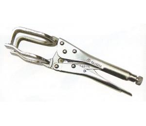 Cr-V镀镍焊接大力钳 亚迪五金