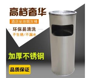 不锈钢垃圾桶圆形丽格