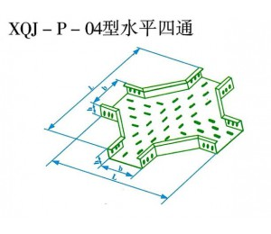 XQJ-P-04型水平四通
