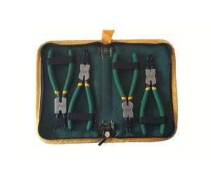 手动工具-卡簧钳四件套-绿林工具