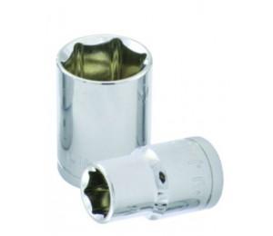 6.3MM系列镜面6角套筒(CR-V)-浦京五金工具