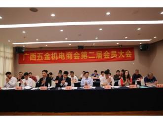 热烈祝贺广西五金机电商会第二届会员大会圆满结束