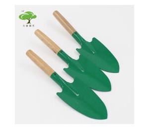 柄小花铲 小铁铲 铲子 挖土工具 绿色 -源青五金机电
