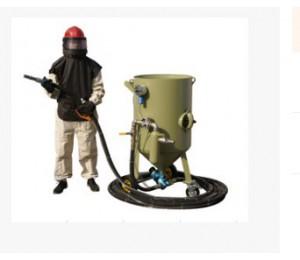 高压式移动喷砂机-沃格机电设备