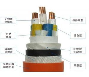鞣性矿物质绝缘耐火电缆BTTRZ-富羽电缆