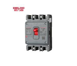 德力西CDM1塑壳断路器CDM3-160S/3300 100A 160A三相3P空气开关-皖淅电气