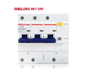 德力西空气开关HDBE 漏保大功率家用 漏电保护器100A 3P 100A 3P+N 100A-皖淅电气