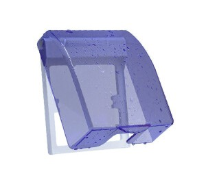 德力西(DELIXI)开关插座防水盒 86型蓝色透明防溅盒面盖B8631/01/T -德力西(DELIXI)开关插座防水盒 86型蓝色透明防溅盒面盖B8631/01/T-皖淅电气