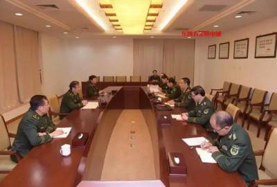 公安部消防局领导与党的十九大代表涂颜淼同志共话学习心得