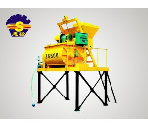 JS500强制式混凝土搅拌机-强瀚建筑机械