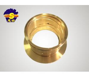 无油润滑轴承铜套耐磨铜套高强度复合铜套-强瀚建筑机械