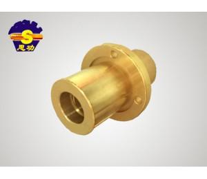 法兰铜套铜铸件-强瀚建筑机械