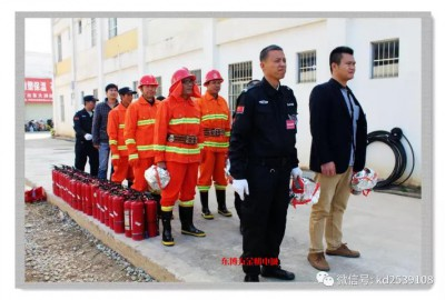 2017年冬季消防灭火应急演练