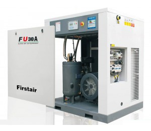 FU系列螺杆空压机(皮带传动式)-凌格风