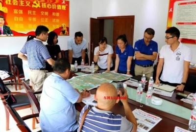 西乡塘区政府在广西工业器材城会议室召开连兴路-经二路征拆工作推进会